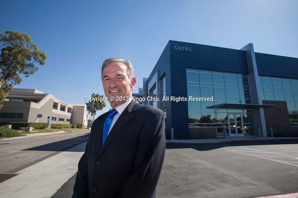 David Meyer, CEO and President of LA BioMed at CDRC building. (Photo by Ringo Chiu/PHOTOFORMULA.com)