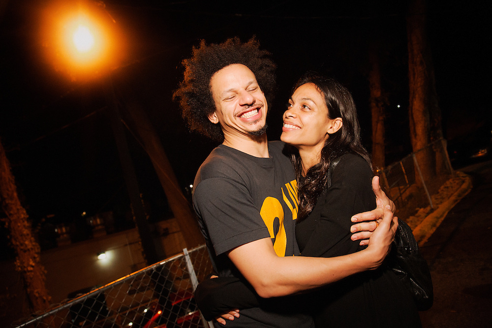 Eric Andre with beautiful, Girlfriend