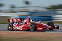 Dario Franchitti, Sebring test, 2/19/2013