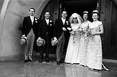 1964 - Wedding of O'Sullivan - Sturtze at Raheny