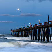 NC00679-00...NORTH CAROLINA - Rodanthe Pier part of the Cape Hatteras National Seashore on the Outer Banks.