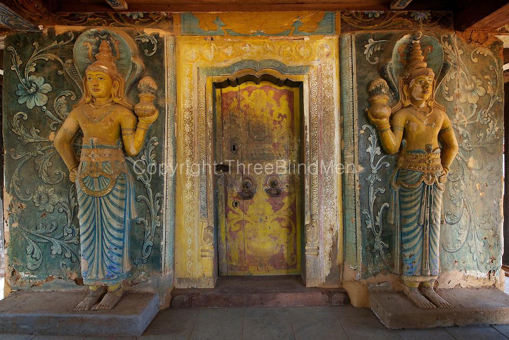 Dambadeniya Buddhist Temple.