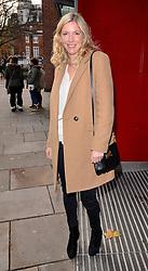 Lisa Faulkner attends A VIP Gala Performance of Matthew Bourne's Edward Scissorhands at Saddlers Wells Theatre, Rosebery Avenue, London on Sunday 7th December 2014