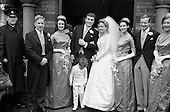1962 - Wedding: Tony O'Reilly and Susan M. Cameron