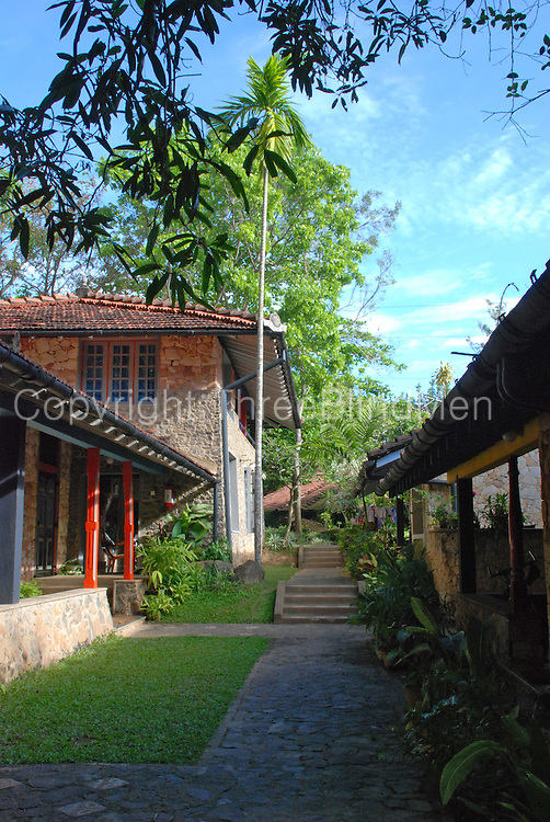 SOS Childrens Village, Galle.<br /> Architect C. Anjalendran<br /> Photo by David Robson
