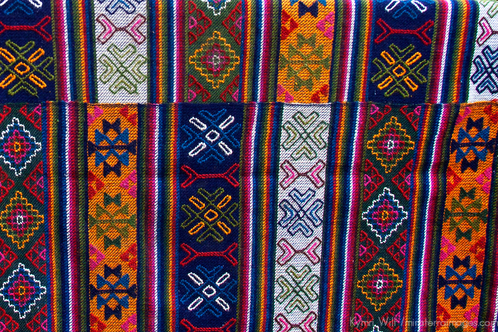 Asia, Bhutan, Bumthang. Bhutanese Textile.
