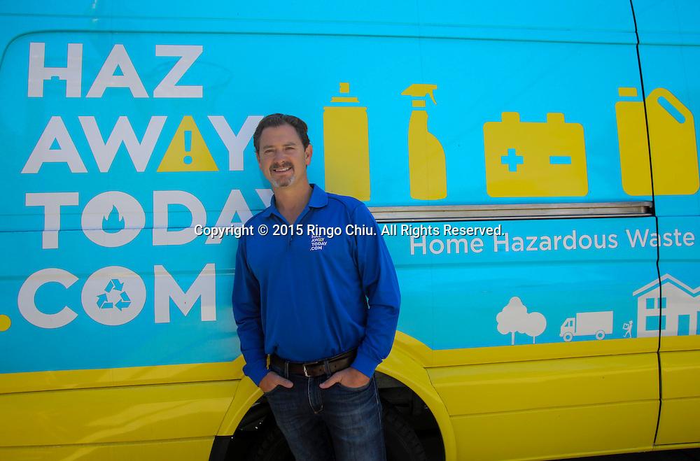 Drew Boyles, cofounder and chief executive of HazAwayToday.com.