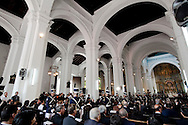 Memorial service of Panama's former President, Guillermo Endara Galimany, in Panama City, Wednesday, Sept. 30, 2009. Endara, who led Panama to democracy after the US invasion that toppled dictator Gen. Manuel Noriega, died Monday, Sept. 28 at age of 73 and received a state funeral. Photo: Tito Herrera / istmophoto