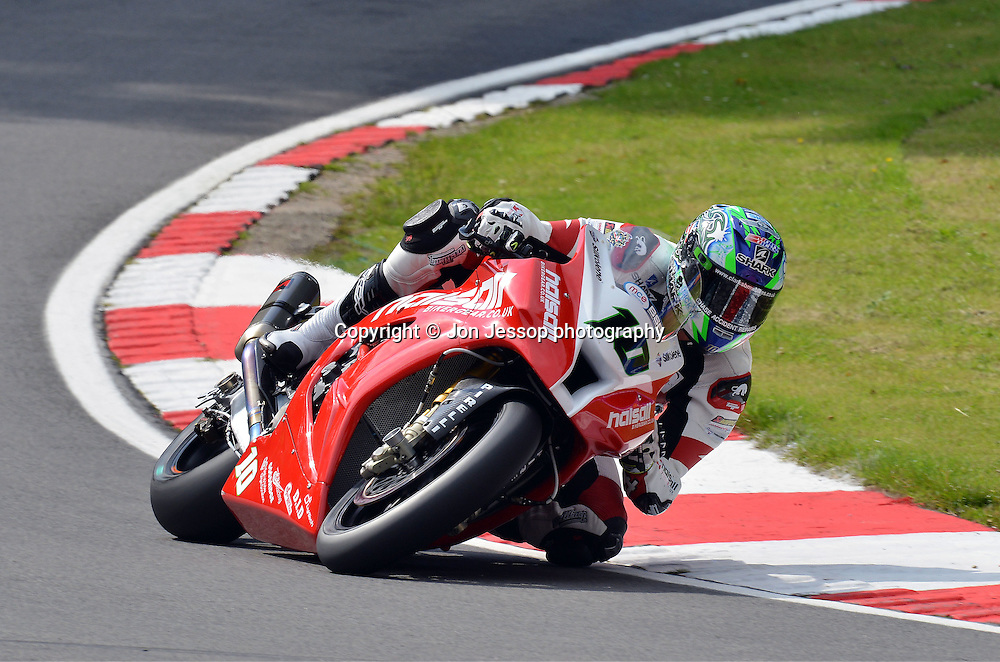 #10 Jon Kirkham Halsall Biker Gear Kawasaki British Superbikes