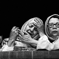 The 2003 Casablanca bombings were a series of suicide bombings on May 16, 2003, in Casablanca, Morocco. The attacks were the deadliest terrorist attacks in the country's history. 45 people were killed as a result of these attacks (12 suicide-bombers and 33 victims). The suicide bombers came from the shanty towns of Sidi Moumen, a poor suburb of Casablanca.