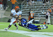 Water Valley's C.J. Jackson (26) vs. Calhoun City in Water Valley, Miss. on Friday, September 2 2011. Calhoun City won 16-14..