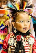 Gathering of Nations Pow Wow, Shawnee Kiowa, boy, kids, Traditional Dancer, Albuquerque, New Mexico