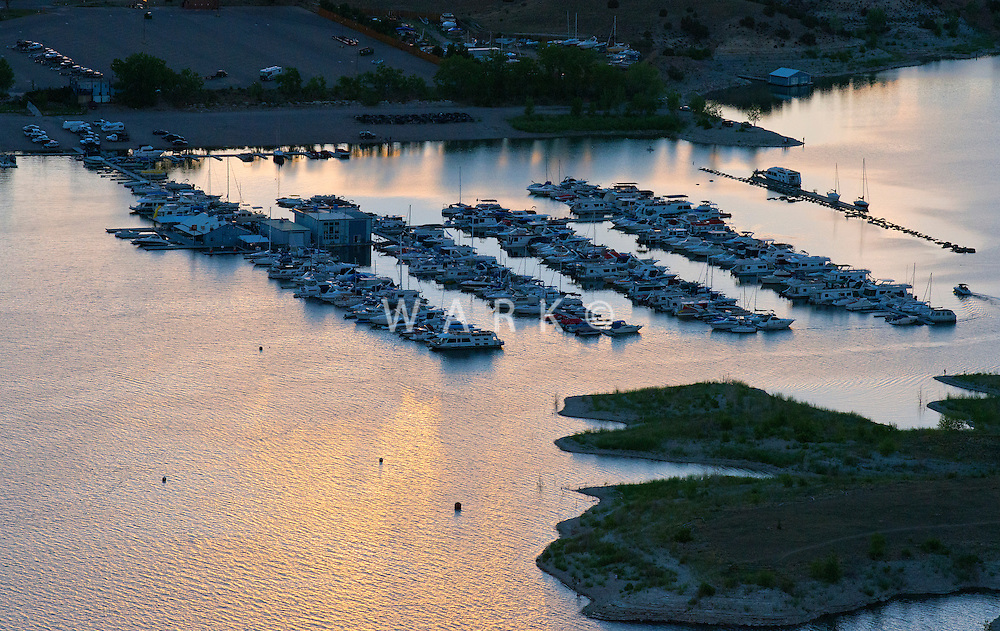 North Shore Marina at Lake Pueblo, Colorado. June 2014