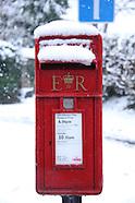 Askett, Buckinghamshire, UK in Snow