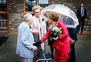 Prinses Margriet verricht vrijdagmiddag 26 september 2014 de officiële opening van de nieuwbouw van