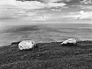 Coast to Coast II. Rocks above the Irish Sea.