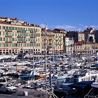 AA00375-02...FRANCE - The Nice harbor has seen ships come and go for 2,000 years.