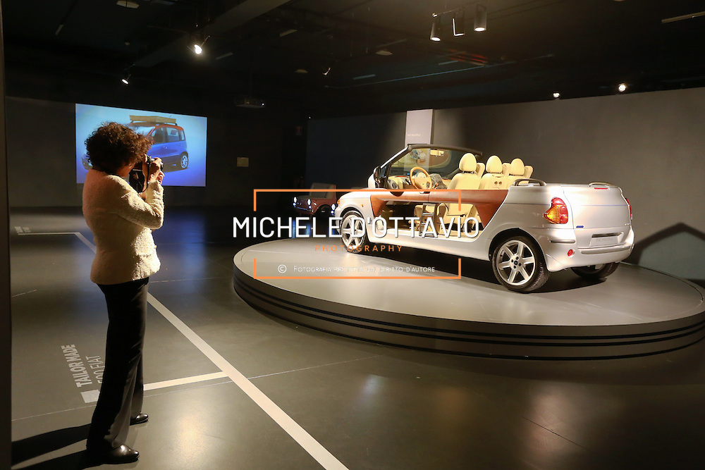 Nella foto: Fiat Multipla spider Nel decennale della scomparsa dell'Avvocato Giovanni Agnelli, il Museo Nazionale dell'Automobile sono esposte le vetture personali dell'Avvocato.
