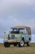 18/12/12 - GERGOVIE - PUY DE DOME - FRANCE - Essais LAND ROVER 88 Type 2A de 1969 - Photo Jerome CHABANNE