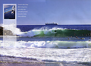 Longbreak surfing magazine, 8 page photographic feature, Cottesloe landscapes, Terry lyon photography