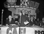1957 Fine Gael Ard Feis at Mansion House