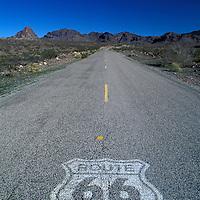 Old Route 66, Near Oatman, Arizona, USA