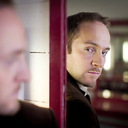 UK. Oxford. Illusionist and mind reader Derren Brown