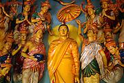 Asokaramaya Buddhist Temple. Colombo.