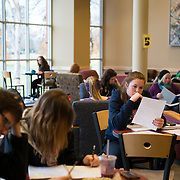 Students study in Jepson. (Photo by Gonzaga University)