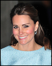 APR 24 2013 Duchess of Cambridge at National Portrait Gallery in London