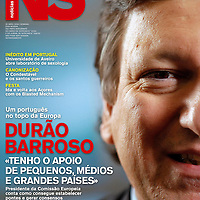 USE ARROWS &larr; &rarr; on your keyboard to navigate this slide-show<br /> <br /> Noticias - news magazine in Portugal<br /> Front cover portrait of the European Commission President Jose Barroso, published in April 2009.<br /> Photo: Ezequiel Scagnetti