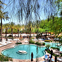 Swimming Pool at Pointe Hilton Tapatio Cliffs Hotel in Phoenix, Arizona<br />