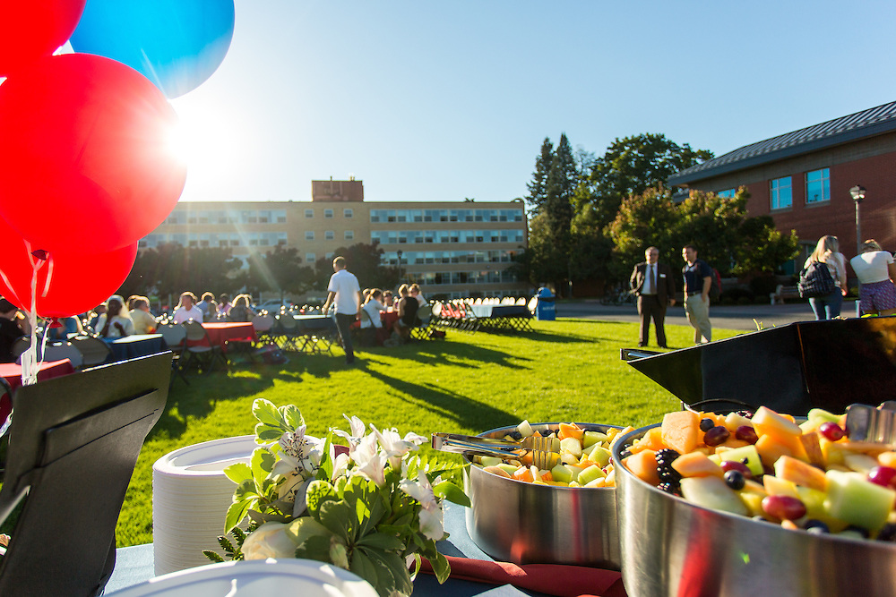School of Education Welcome Back Barbecue.(Matt Weigand photo)