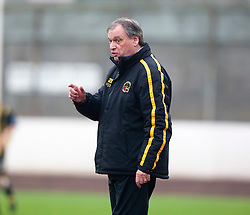 Berwick Rangers manager Jimmy Crease..Berwick Rangers 0 v 1 Annan Athletic, 1/10/2011..Pic © Michael Schofield.