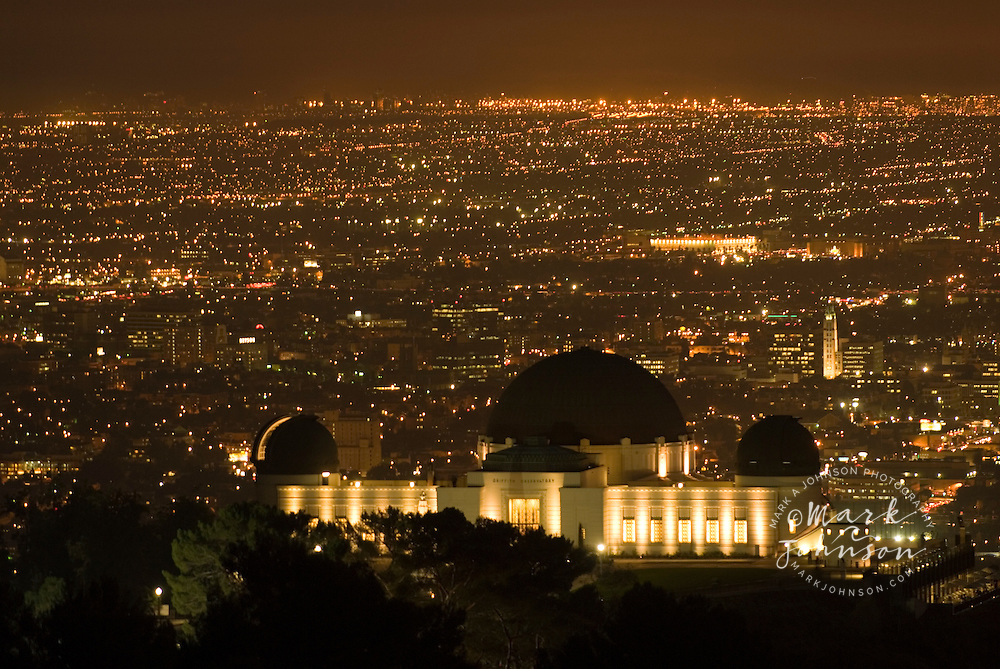 Griffith Observatory, Griffith Park, Los Angeles, California