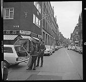 1970 - Bomb Scare at Telephone Exchange, Dublin Ireland.