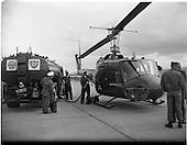 c158 1962 Irish Shell Refuelling American Helicopter at Baldonnel, Dublin