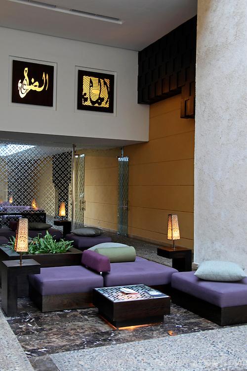 Africa, Morocco, Rabat. The Sofitel Rabat Jardin de Roses Hotel.