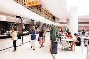 Food Hall at Em Quartier mall