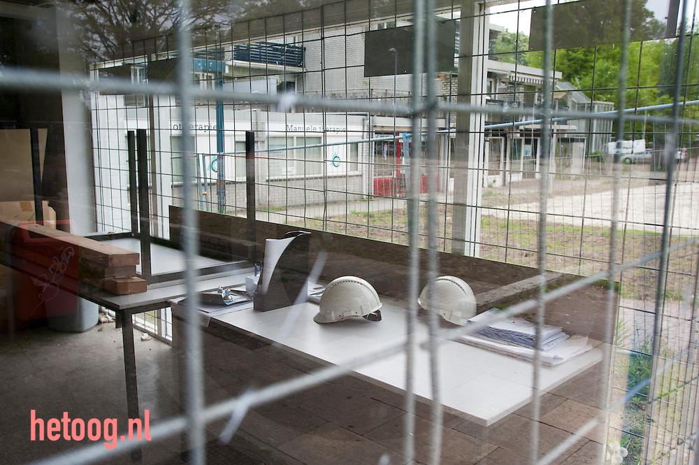 Nederland, 08mei2012 het winkelcentrum 'stokhorst' in enschede (is dit) de allerlelijksteplek van nederland?  verkiezing v/d lelijksteplek door programma 'de slag om nederland' VPRO TV