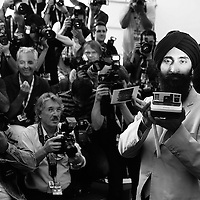 64 Mostra Cinema - Photo Call 'The Darjeeling limited' e 'Hotel Chevalier'.nella foto Waris Ahluwalia.foto di Stefano Meluni