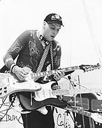 Cheap Trick 1980 Rick Nielsen.© Chris Walter.