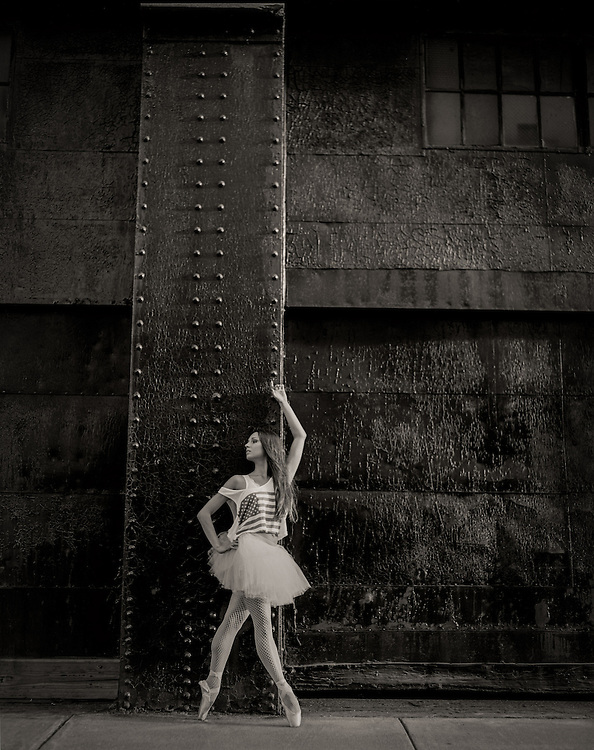Olga Malinovskaya of Boston Ballet and The Bolshoi Ballet Academy photographed in Boston.