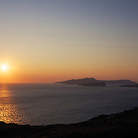 Spot for the best sunset viewing on the island in the summer? Right here at the Caldera view in Akrotiri.