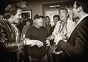 Jimmy Fallon and Billy Joel -- NBC Studios, New York, NY