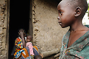 ''I lost my children. I had twelve, eight died and I don't know what happened with the others. Hopefully, i may find them some day.'' Displaced people camp nearby Nyanzale.