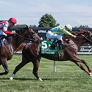 Syntax wins the 61st running of The Kent Stakes Saturday, July 18, 2015, at Delaware Park Race Track in Newark, DEL.  <br /> <br /> The Delaware Handicap is for Fillies and Mares three years old and upward and the winner is rewarded $750.000