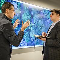 CYVIZ, Peter Stewart, University of Miami, computer lab