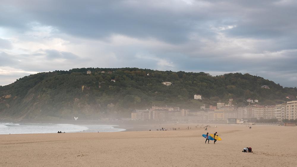 Playa la Zurriola