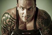 Portrait of Body Builder Luis Fernando (2009)